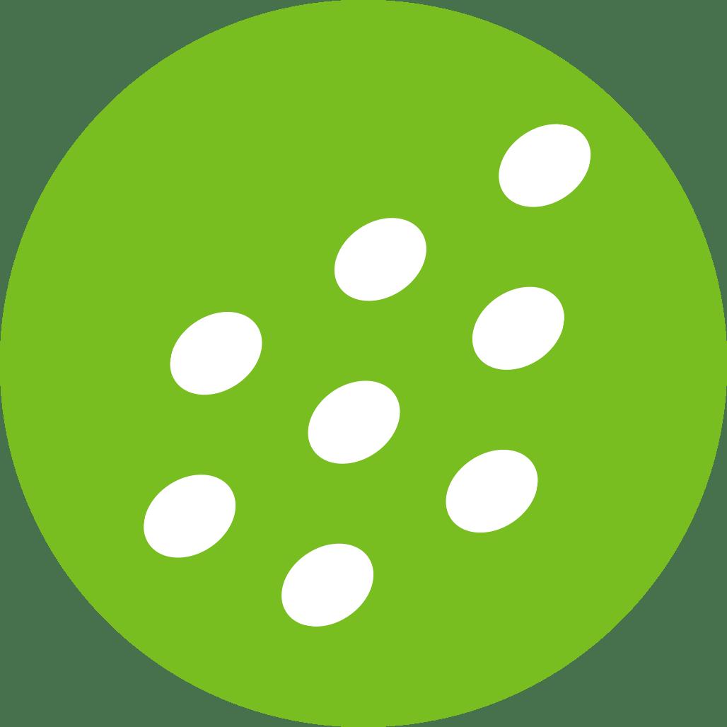 Dit is een icoon voor egale mist, mini- en microduppels. De systemen van Reldair leveren een optimaal sproeibeeld. Meer informatie vind je hier of mail ons gerust.